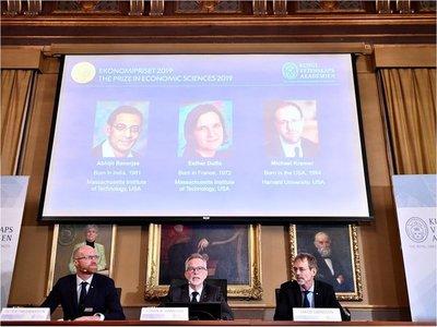El Nobel de Economía de 2019 para Banerjee, Duflo y Kremer