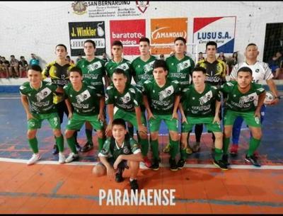 Paranaense suma goleadas en Nacional C20