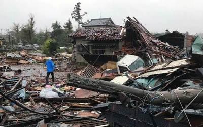 Al menos 33 muertos y un centenar de heridos tras el paso del tifón Hagibis en Japón