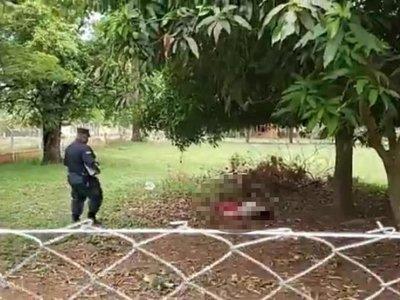 Encuentran cadáver en predio de Ateneo de Lengua y Cultura Guarani
