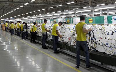 Exportación de maquila ascendió a US$ 448,2 millones