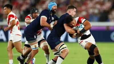 Histórica clasificación de Japón a cuartos de final del Mundial de Rugby
