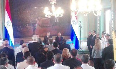 Juró Acevedo  y ratificó que todo es negociable menos el cumplimiento de la ley
