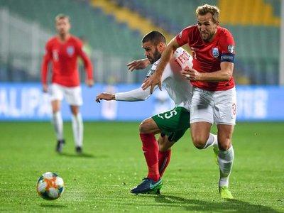 Inglaterra golea a Bulgaria y al racismo