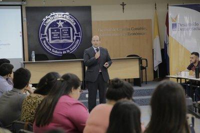 Ministro del Mitic comparte detalles de Agenda Digital con líderes universitarios
