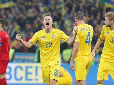 Ucrania derrota a Portugal y sella el pase a la Eurocopa 2020