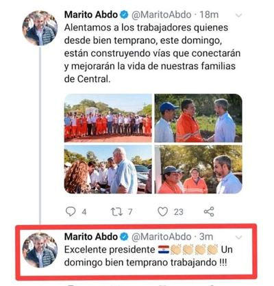 """Galaverna: Comunicación del Presidente es """"deficiente"""""""