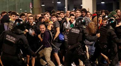 Máxima tensión en Barcelona tras la sentencia del 'procés'