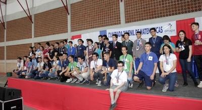 Gran final de la Olimpiada Nacional de Matemática 2019 convocó a más de 700 estudiantes en Asunción