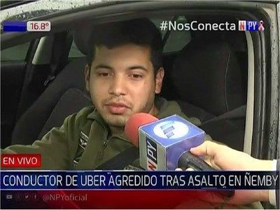 Conductor de Uber denuncia asalto de supuestos usuarios