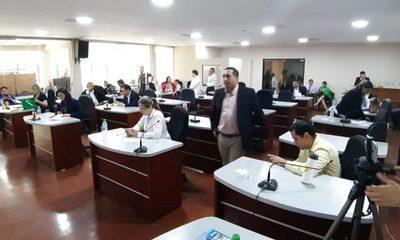 Junta Departamental aprueba feroz sobrefacturación de Gobernador en obras para Santa Rosa del Monday