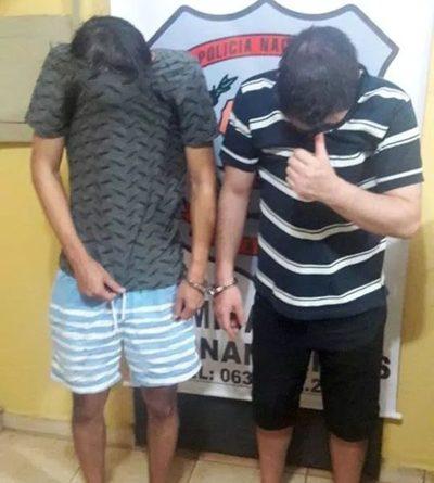 Agreden brutalmente a ciclista en Hernandarias Autores están detenidos