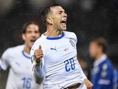 Italia golea a Liechtenstein y mantiene el pleno