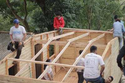 Techo llama a voluntarios para la construcción de 100 viviendas