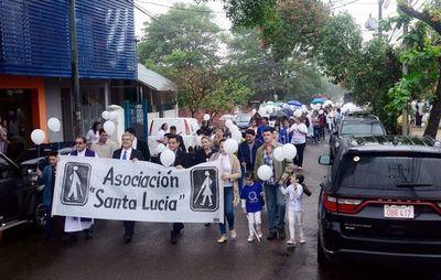 Día Mundial del Bastón Blanco recordaron ayer
