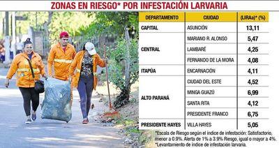 El dengue no da tregua y aumentaron notificaciones de casos sospechosos
