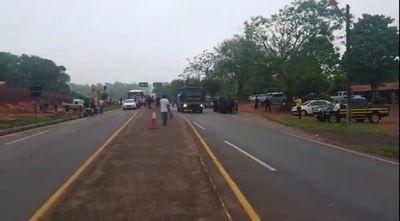 Tomateros lamentan represión policial para despeje de ruta
