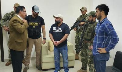 Jefe Narco fue expulsado del país y entregado a las autoridades del Brasil
