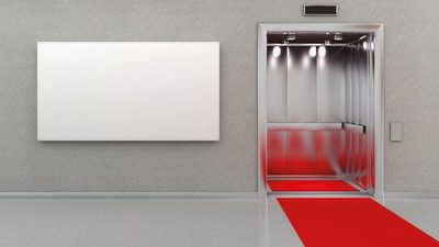 Diputados y sus ascensores exclusivos