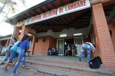 Hospital de Lambaré: funcionarios protestan y denuncian irregularidades