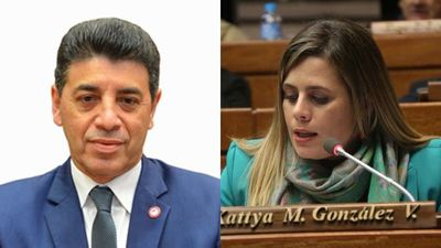 Pelea opositora: Victor Ríos enojado con Kattya González por ley contra legisladores-rectores
