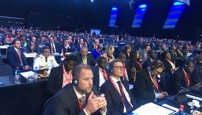 Gobierno presentó protesta ante asamblea de la Interpol