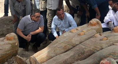 """Hallan 20 ataúdes del Antiguo Egipto en Luxor: """"Un descubrimiento asombroso"""""""