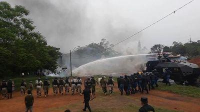 Tomateros hablan de represión tremenda y repudian detención de manifestantes