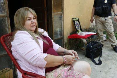 Detienen a una mujer en Barrio Obrero dedicada a introducir marihuana a Tacumbú