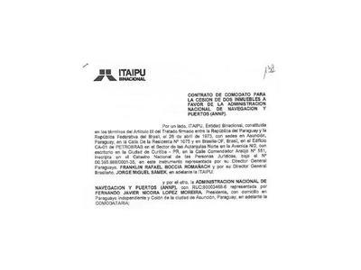 ANNP dice que no tiene nada que ver con  puertos que Itaipú le cedió
