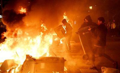 España, conmocionada por violentas protestas de los ultracatalanes