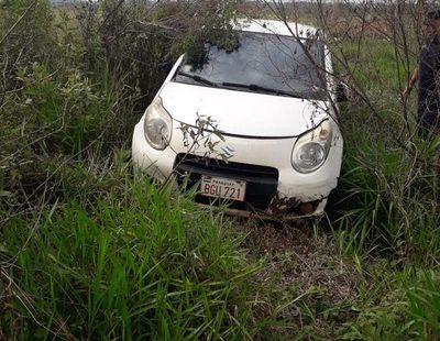 Recuperan vehículo tras violento asalto a radio de Minga Guazú