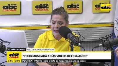 Martínez Vela dice tener contacto con estructura del gobierno y amenaza a familia Chilavert