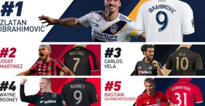 La camiseta de un paraguayo es una de las más vendidas en la MLS