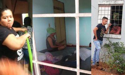 Patotera del clan ZI vendió casa de SENAVITAT e intentó desalojar a una mujer embarazada
