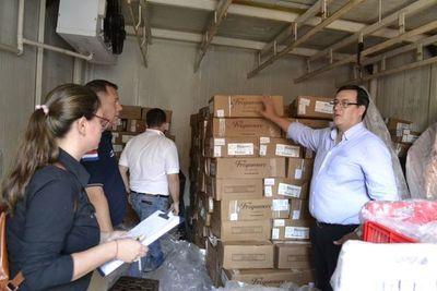 No pagaron el alquiler para guardar 8.000 kg de carne robada y fueron denunciados