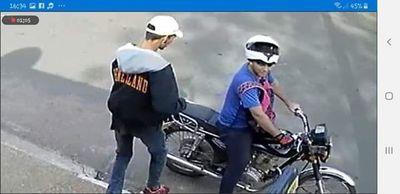 Dos maleantes habrían perpetrado dos asaltos en un mismo día