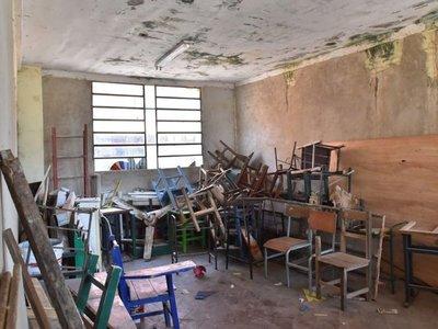 MEC tiene   G. 219.100 millones sin usar para reparar escuelas públicas
