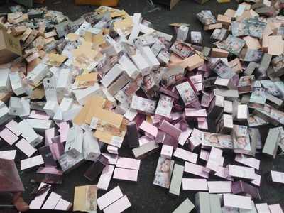 Destruyen perfumes falsificados que estaban valuados en más de USD 1 millón
