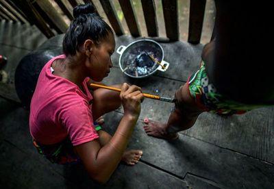 Indígenas panameños buscan récord Guinness