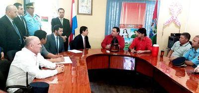 Municipalidad de Benjamín Aceval ya está intervenida