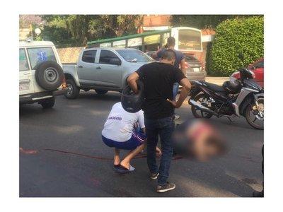 Ambulancia ocasionó accidente fatal sobre Mariscal López
