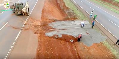 En Yguazú también reabren caminos bloqueados por consorcio Tape Porã