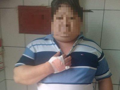Menor de 14 años hirió a su papá con un cuchillo