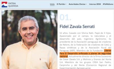 HOY / Zavala niega acceso a datos de inteligencia y vínculos con fundación de su hermano