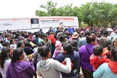 Destacan exitosa jornada de atenciones médicas en Campo Alegre