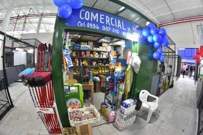 Comuna de Asunción habilitó nuevo pabellón en el Abasto