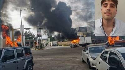 """Ocho muertos, 49 reos fugados: el saldo oficial del fallido operativo contra el hijo de """"El Chapo"""""""