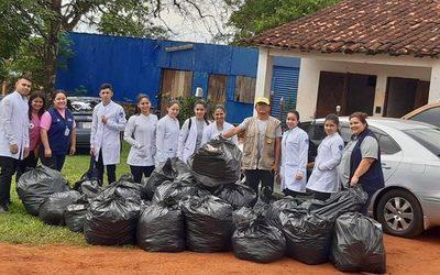 Eliminan criaderos en hospital de Franco