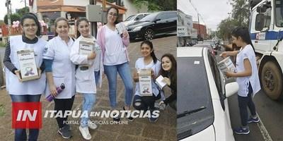 LA LLUVIA NO DETIENE LA COLECTA DE LA FUNDACIÓN LAZOS DEL SUR